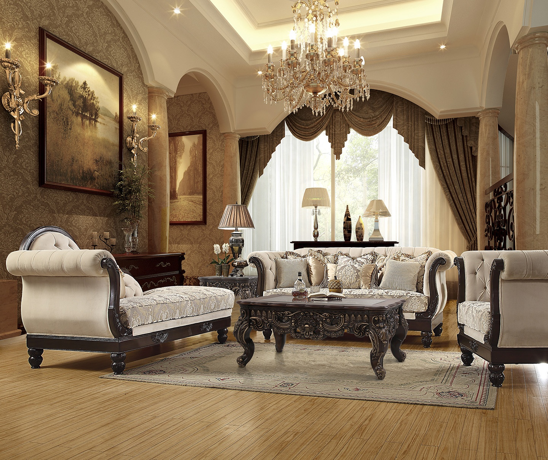 Terrific Hd 2651 3Pc Sofa Set Homey Design Inc Ncnpc Chair Design For Home Ncnpcorg
