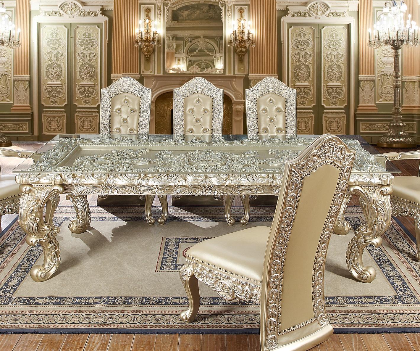 HD-8022 - DINING TABLE - Homey Design Inc.