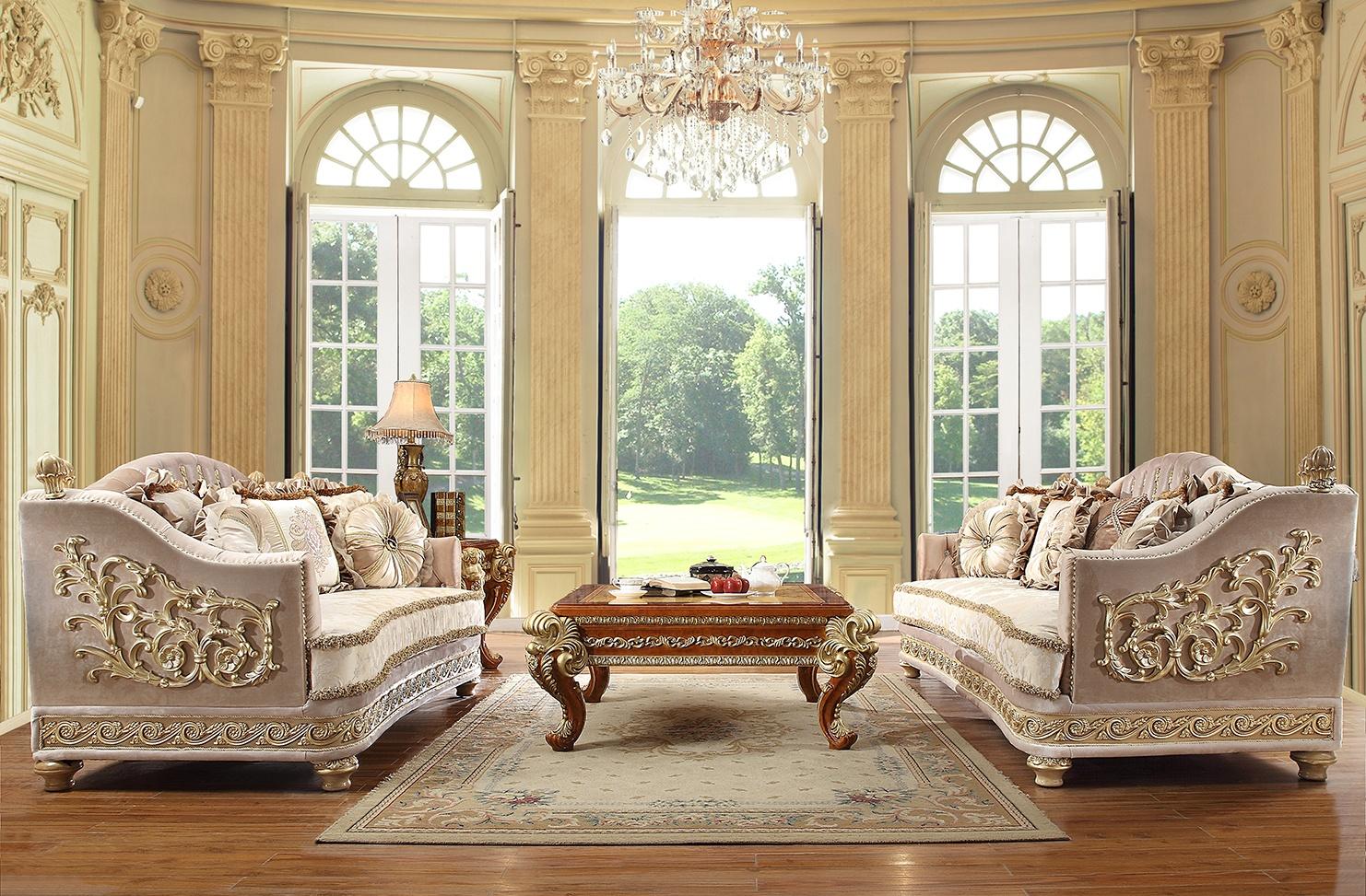 Wondrous Hd 814 3Pc Sofa Set Homey Design Inc Ncnpc Chair Design For Home Ncnpcorg