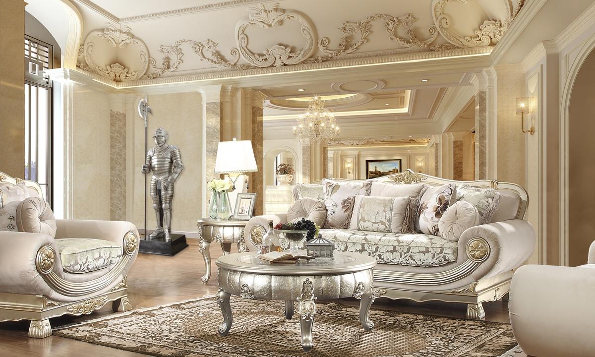 Astounding Hd 2656 3Pc Sofa Set Homey Design Inc Ncnpc Chair Design For Home Ncnpcorg